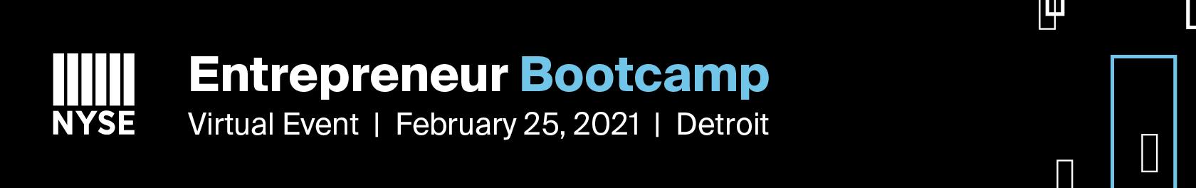 NYSE Entrepreneur Bootcamp Detroit